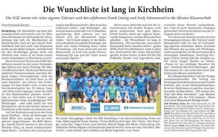 SGK Heidelberg – Abteilung Fußball is feeling mit Spass am Fussball und Herzblut at…