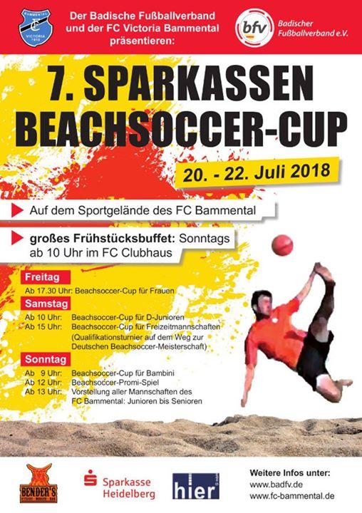 Morgen nehmen die SGK Damen mit zwei Mannschaften bei dem BeachSoccer-Cup in Bammental teil.…