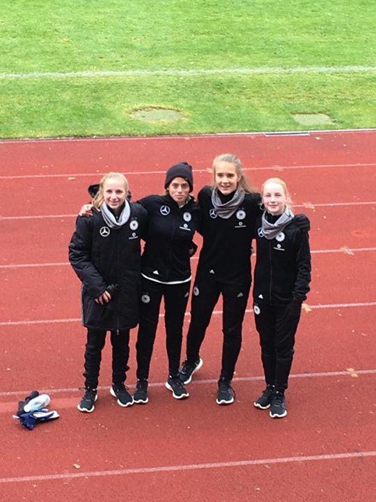 Lina: Die erste Nationalspielerin der SGK! Torfrau bei den U15