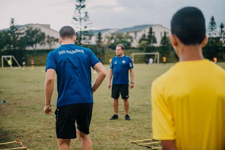 SGK Heidelberg – Abteilung Fußball shared Moka Rangers Sports Club's