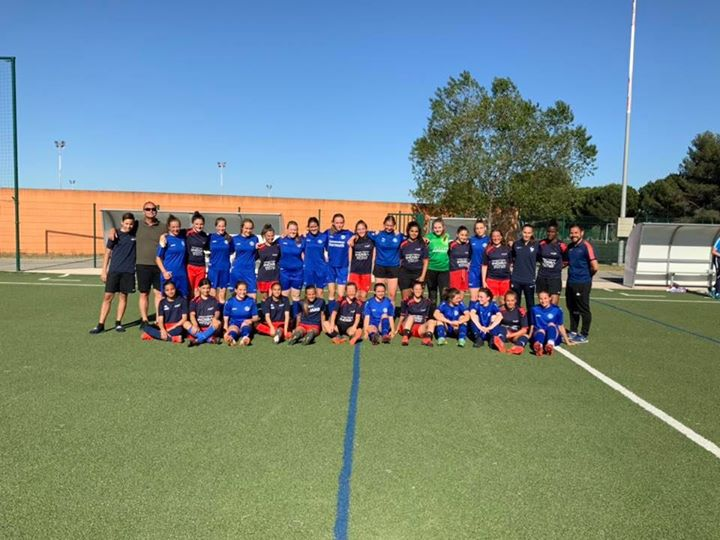 Perfekter Fußballtag bei unseren Freundinnen und Freunden in Montpellier: Unsere